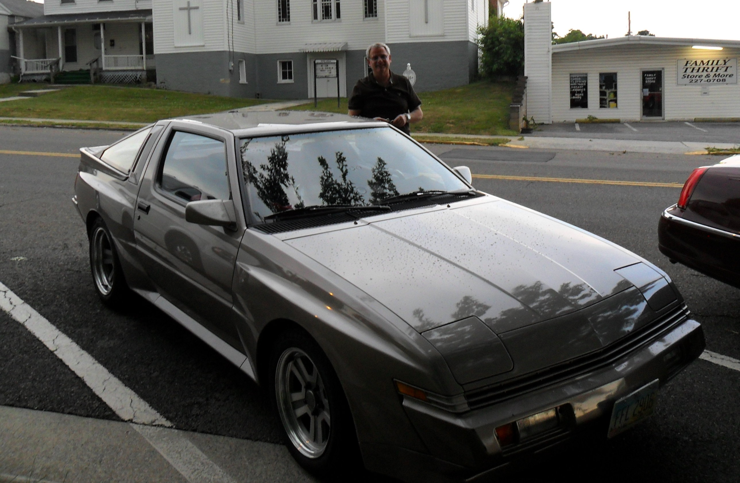 My Shetland Beige 1987 Chrysler Conquest