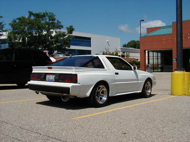 My White 1987 Chrysler Conquest